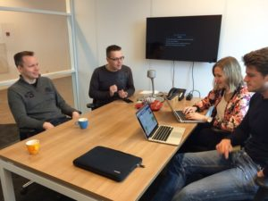 Productteam Embrace ontwikkelt met MVC