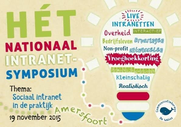 Alles weten over het social intranet van Gemeente Zeist? Kom naar Hét Nationaal Intranet Symposium
