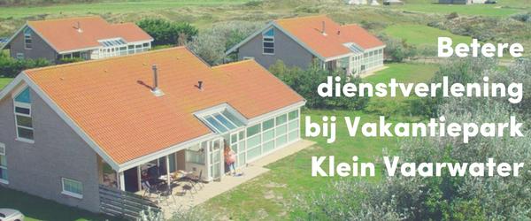 Social intranet als boost voor een betere dienstverlening bij Vakantiepark Klein Vaarwater
