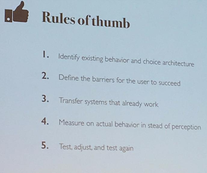 Behavioral design digital workplace