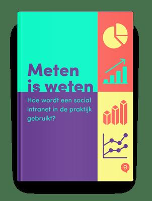 Infographic – Meten is weten: het gebruik van een social intranet