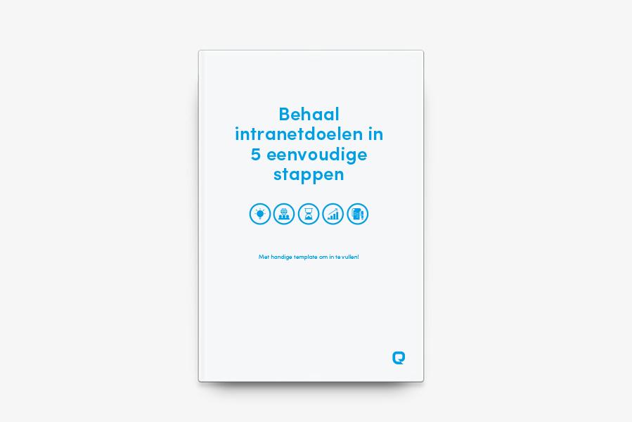 Behaal intranetdoelen in 5 eenvoudige stappen