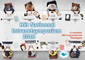 Hét Nationaal Intranetsymposium 2018