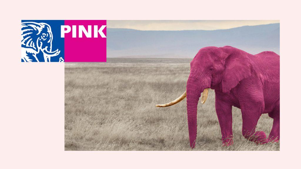 Pink Elephant & Embrace