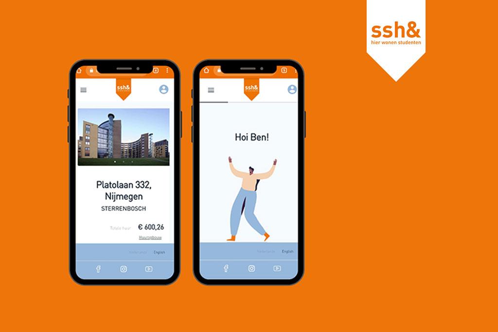 SSH& maakt het de student gemakkelijker bij het vinden van een kamer